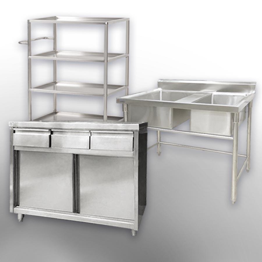不鏽鋼廚櫃
